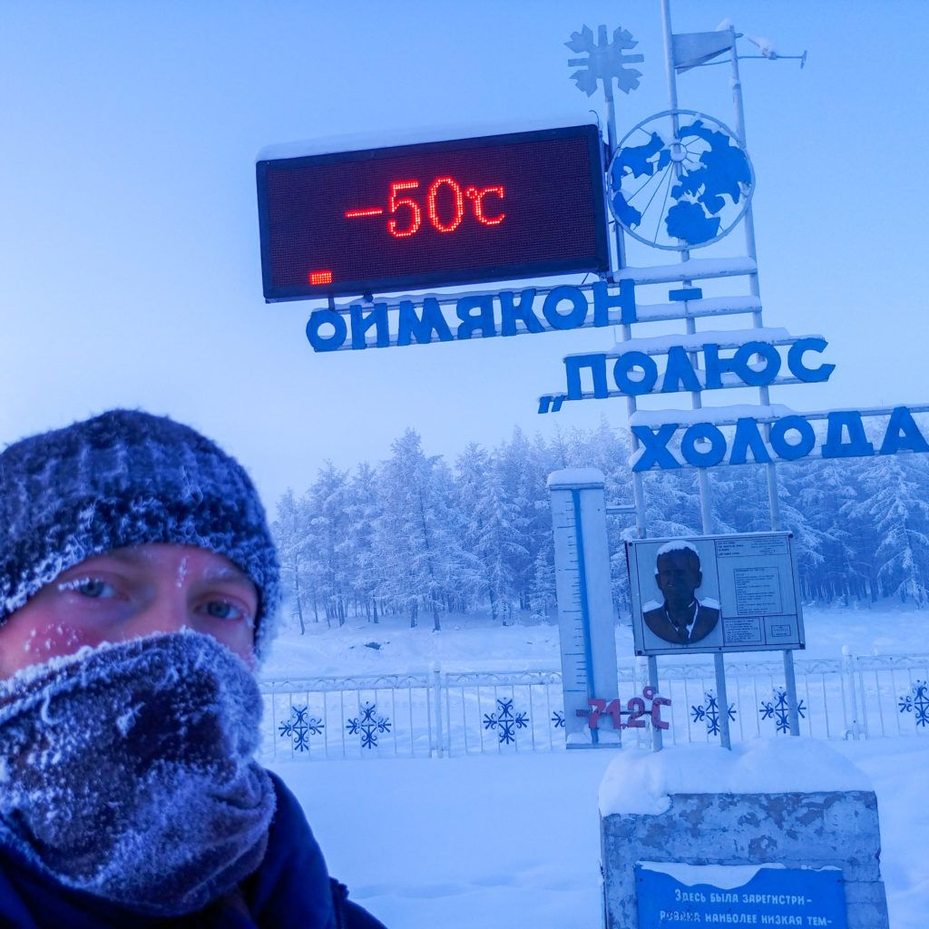 Jozef stopoval do najchladnejšej dediny sveta Ojmiakonu. Stálo ho to menej ako dve slovenské výplaty a cestu posiatu mŕtvolami