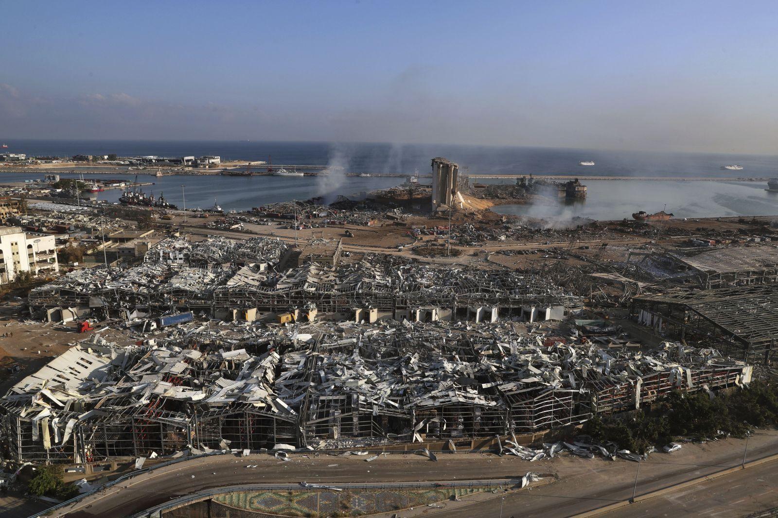 Jedinú budovu, ktorá zostala stáť po výbuchu v Bejrúte, navrhli Česi. Inak tomu nebolo ani po výbuchu atómovky v Hirošime