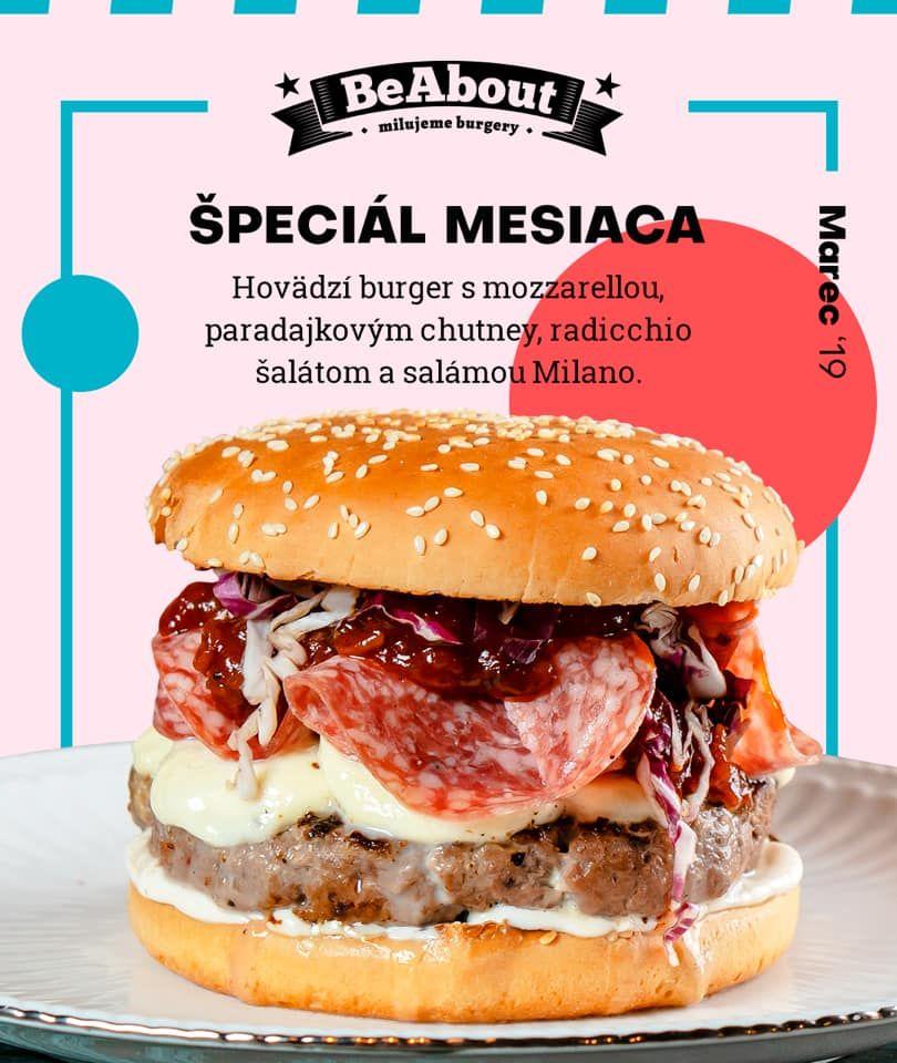 Vyskúšali sme nový špeciálny salámový burger z BeAboutu.