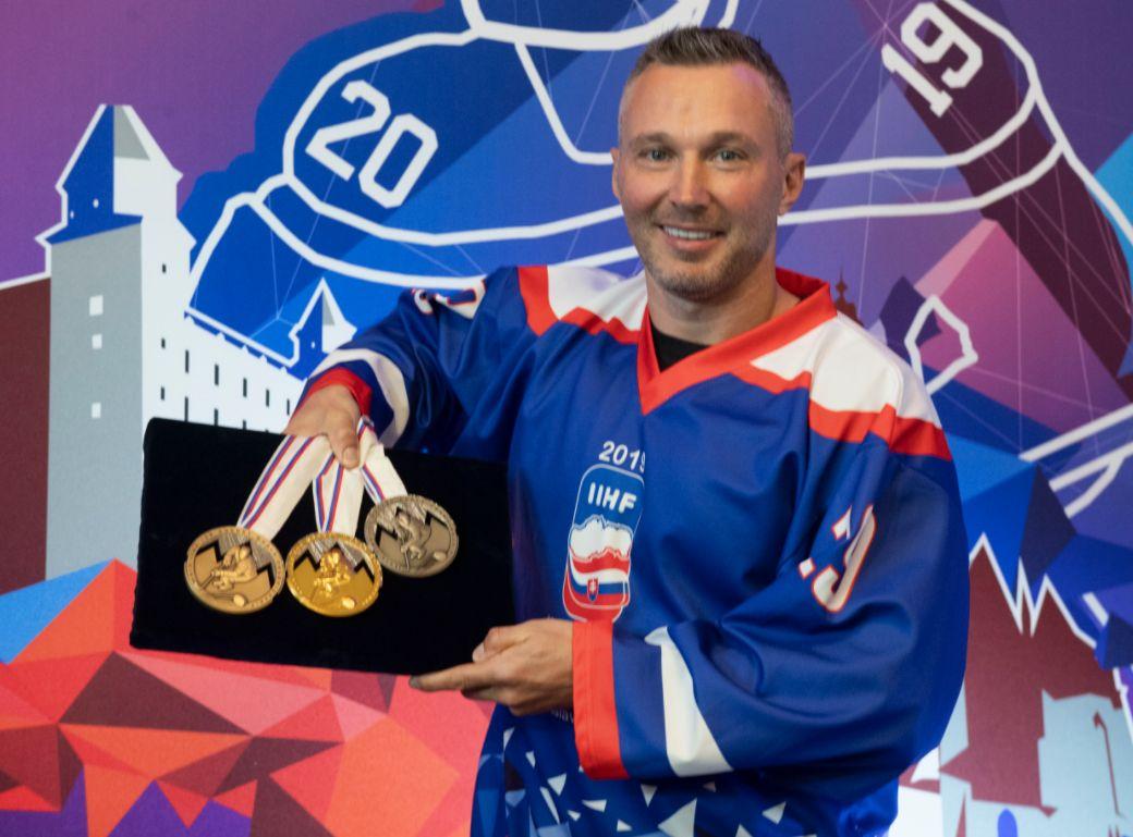 Slovensko možno zorganizuje MS v hokeji 2021.