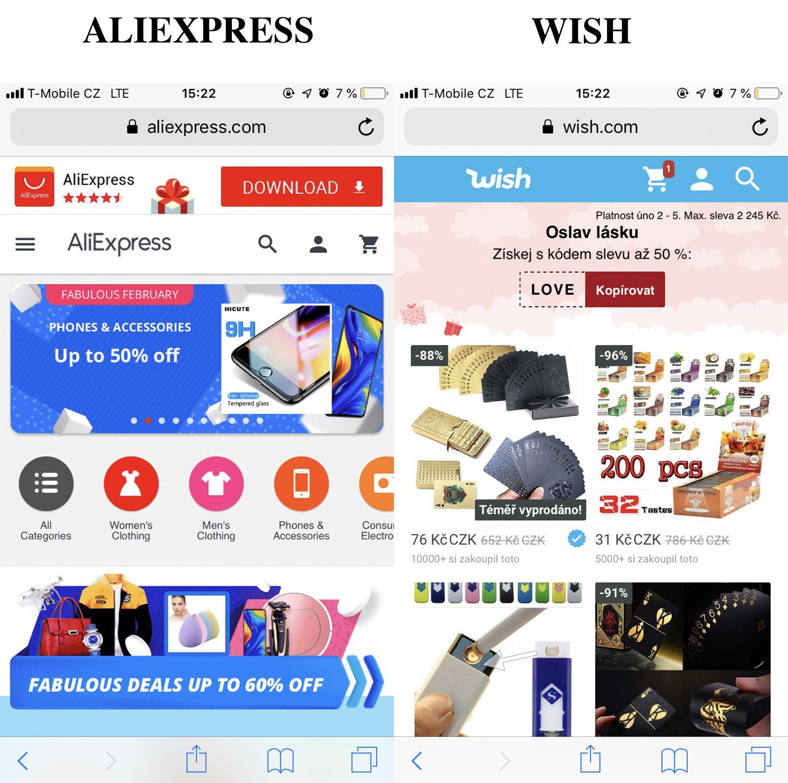 Je lepší Ebay, Amazon nebo Aliexpress? Srovnali jsme nejoblíbenější zahraniční e-shopy