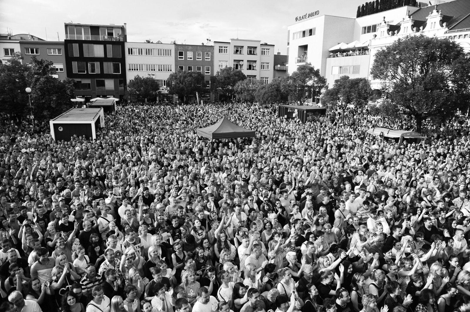 Festival se vždy těšil hojné návštěvnosti