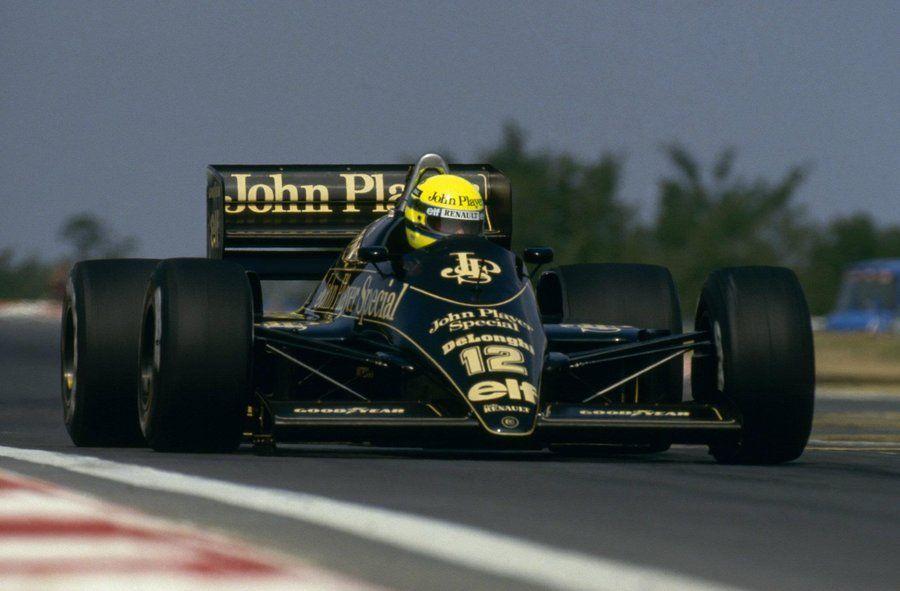 Senna v Lotuse
