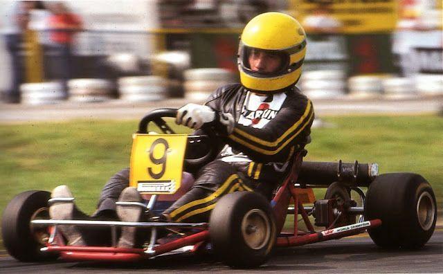 Ayrton Senna v motokárach