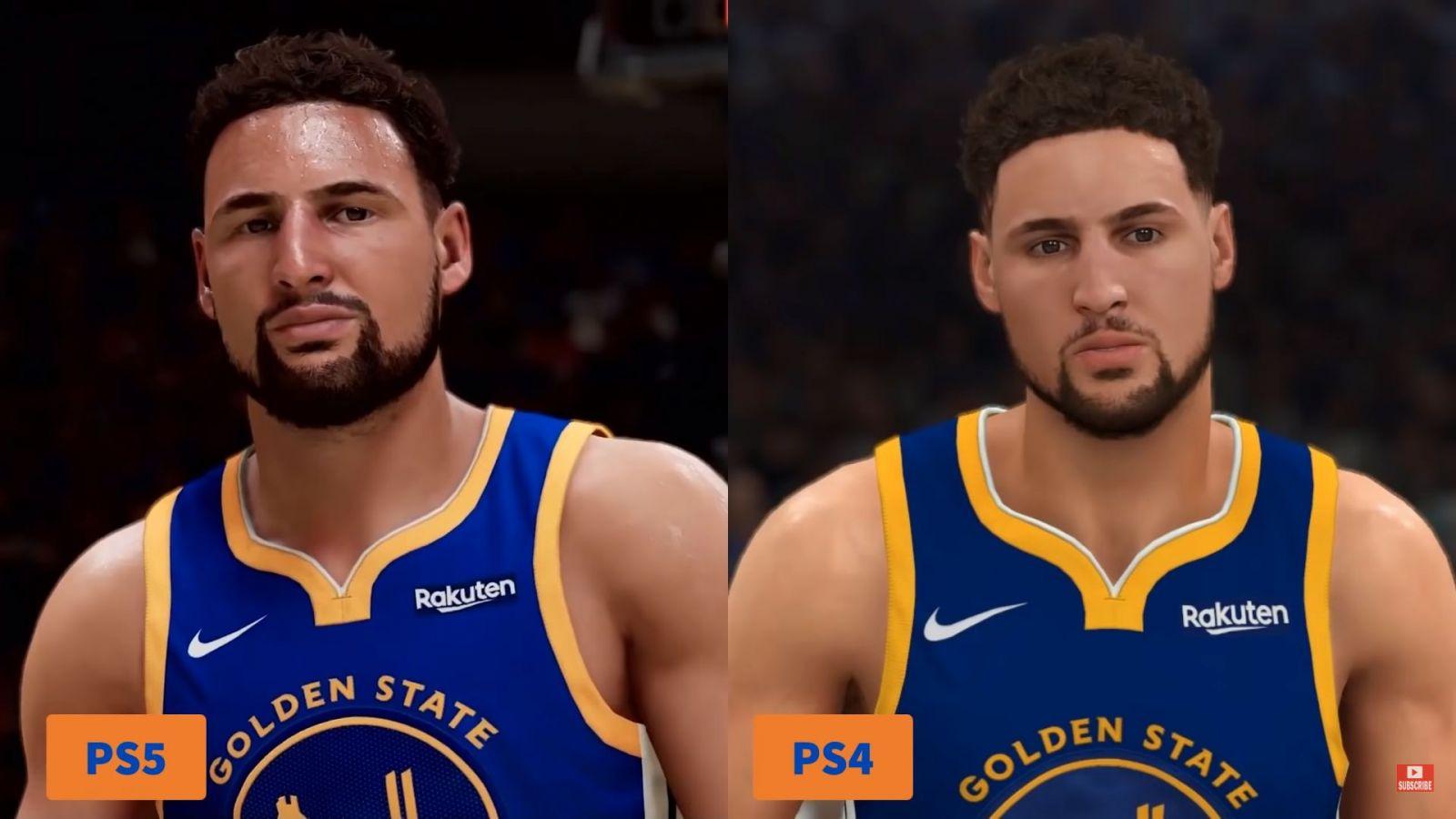 Porovnanie NBA 2K21 na PS5 a PS4