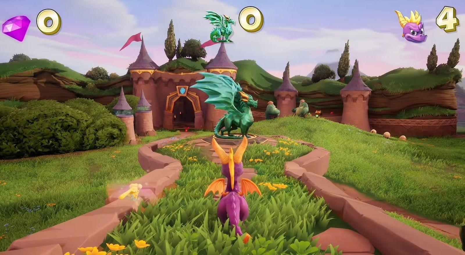 Spyro Reignited Trilogy na Playstation 4