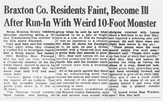 Videli deti z mestečka Flatwoods v roku 1952 v lese naozaj mimozemšťana alebo išlo len o nafúknutý výmysel?