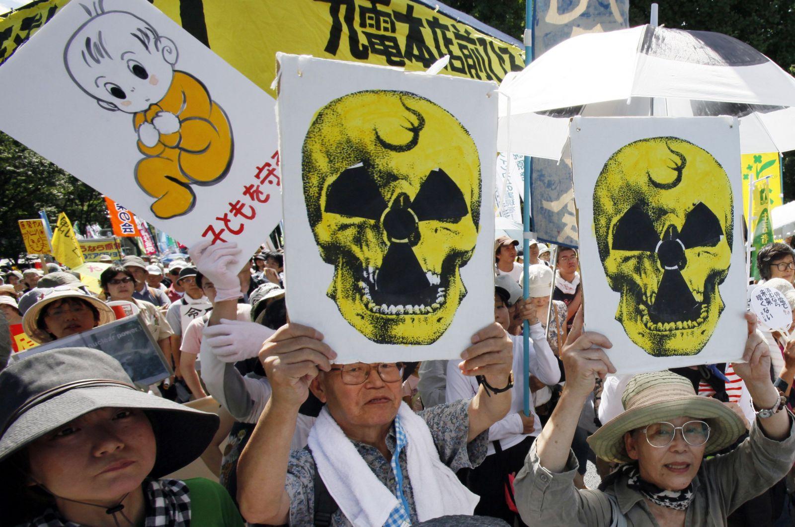 Protesty proti jaderné energii z roku 2012
