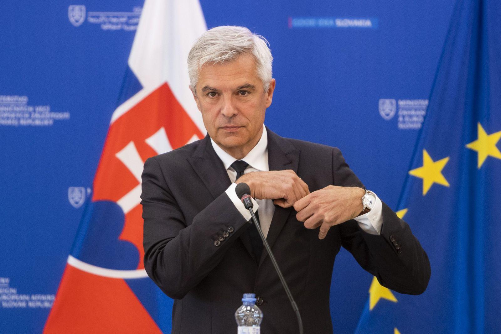 Voľby v Bielorusku boli sfalšované, tvrdí minister zahraničných vecí Korčok. Chce sankciovať predstaviteľov režimu