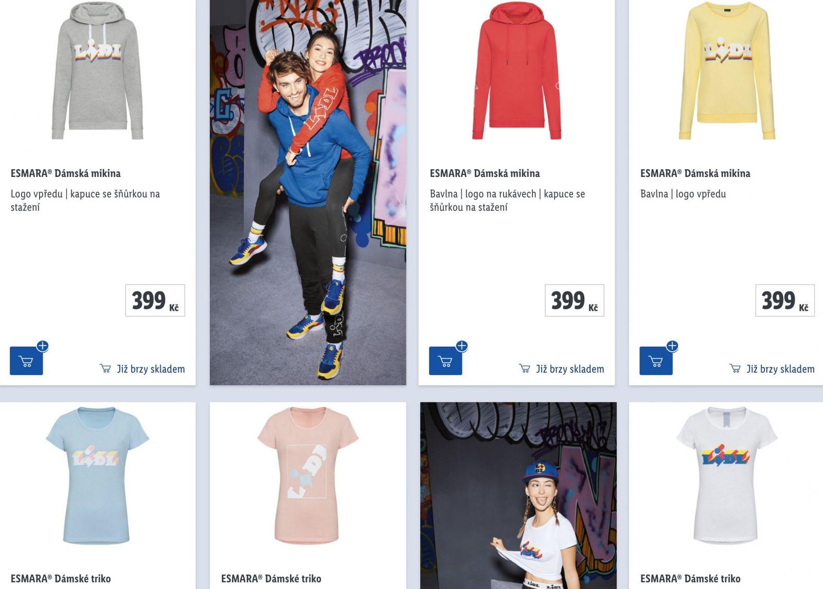 Lidl predstavil ďalšiu limitovanú kolekciu oblečenia. Pri poslednej sa ich tenisky dražili za 6 000 €