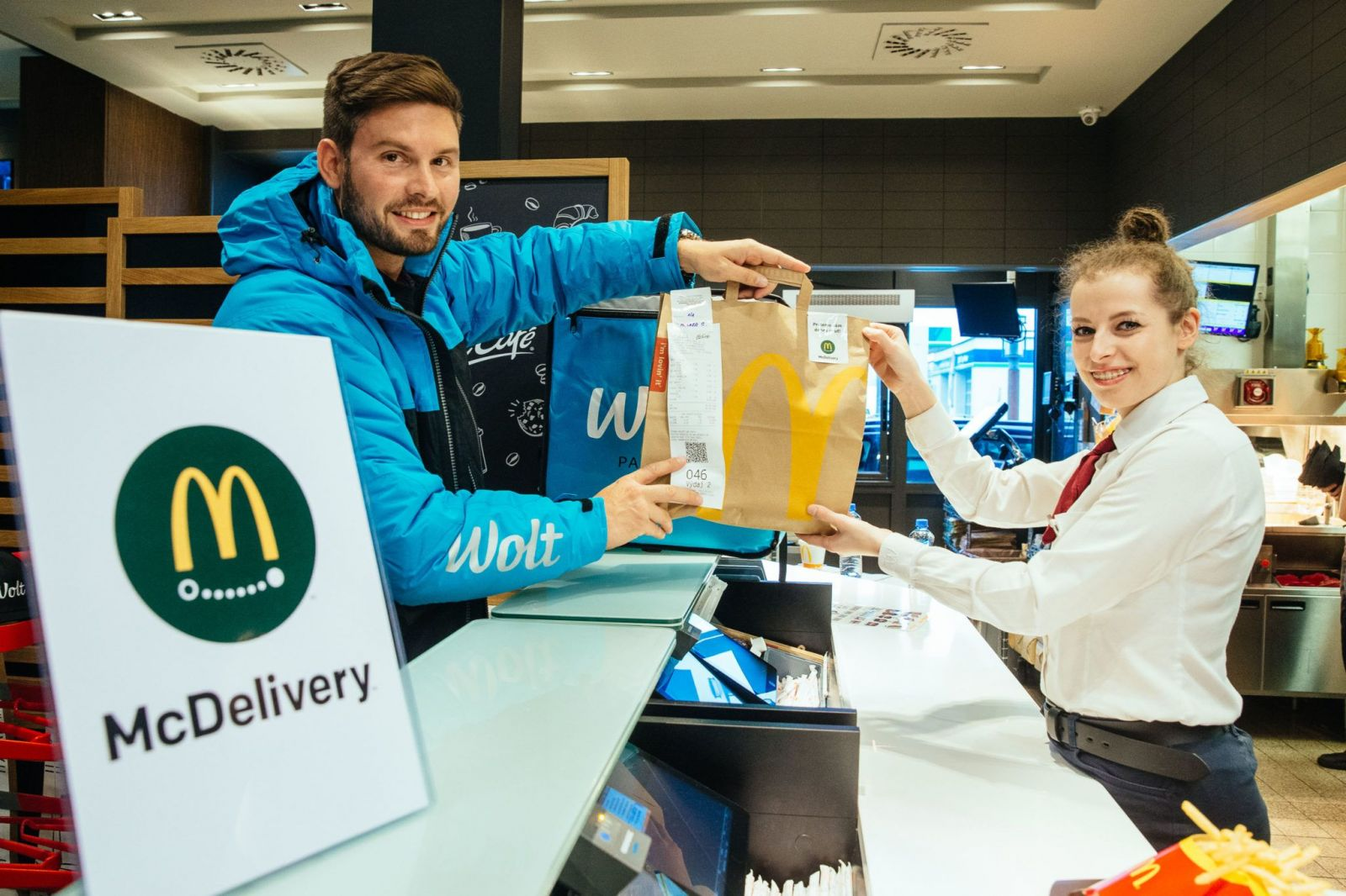 McDonald's na Slovensku spúšťa donáškovú službu. McDelievery bude v rámci Bratislavy donášať Wolt