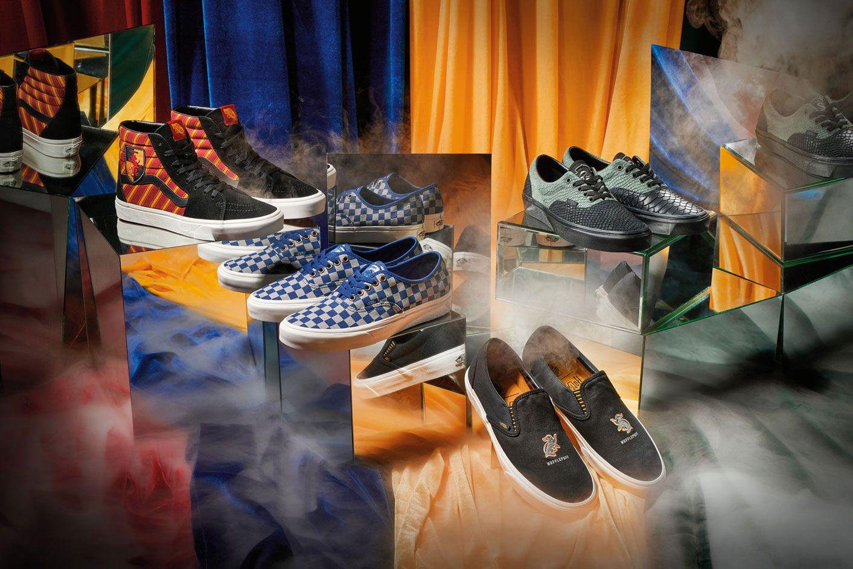 093069d24d26 Vans odhaľuje exkluzívnu kolekciu Harry Potter. Nebudú chýbať tenisky s  tematikou každej Rokfortskej fakulty