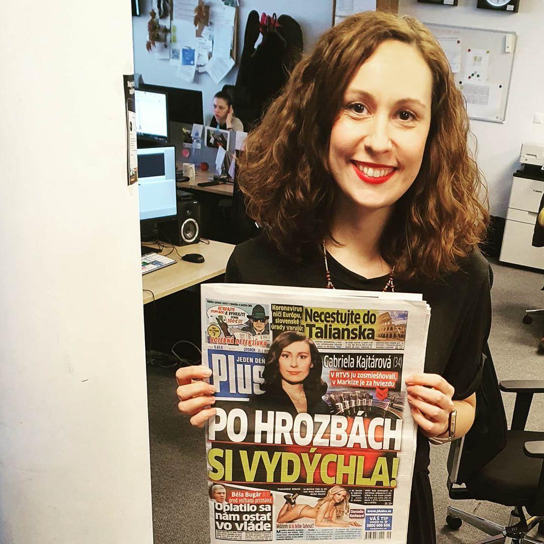 Mojou ambíciou nie je hlásiť televízne noviny, chcem sa venovať hlbším a kontroverzným témam, tvrdí Gabriela Kajtárová (Rozhovor)