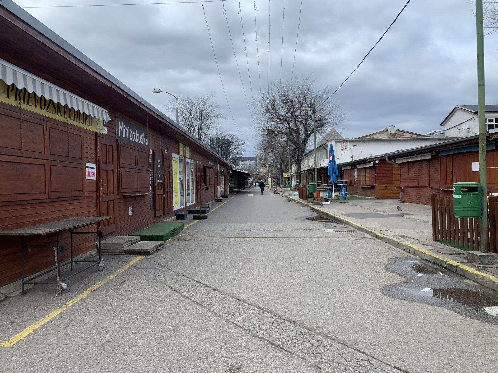 Trhovisko Miletičova v stredu o 14:00