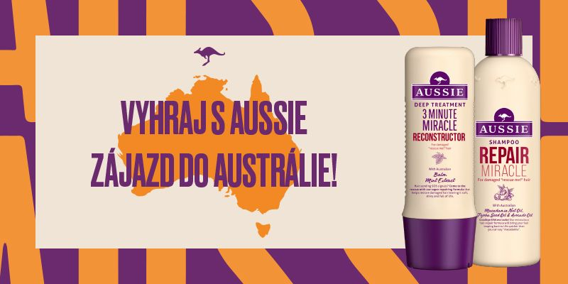 Vyhraj zájazd do Austrálie v hodnote 8 000 EUR tým najľahším spôsobom. Spoločnosť ti bude robiť Barbora Bakošová