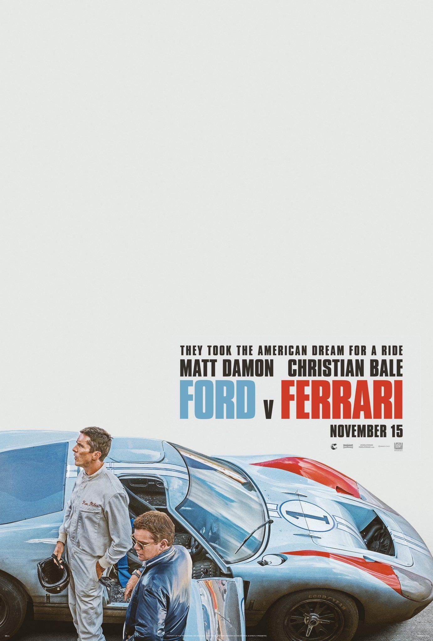 Christian Bale a Matt Damon vyhlasujú vojnu najrýchlejšiemu autu. Ford vs Ferrari bude nezabudnuteľnou adrenalínovou jazdou
