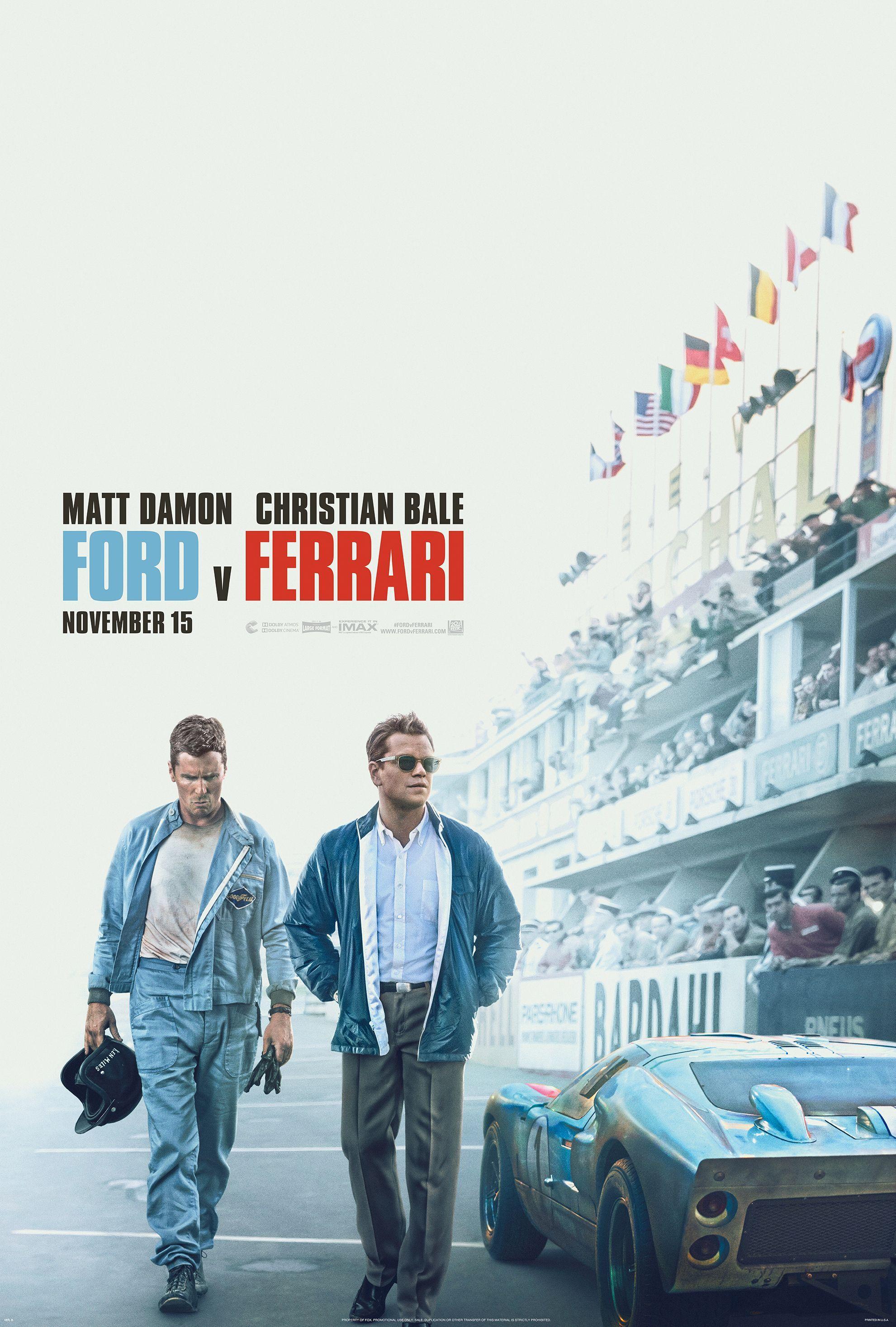 Matt Damon posadí Christiana Balea za volant auta, ktoré musí poraziť Ferrari. Sleduj vynikajúci trailer pre Ford vs Ferrari