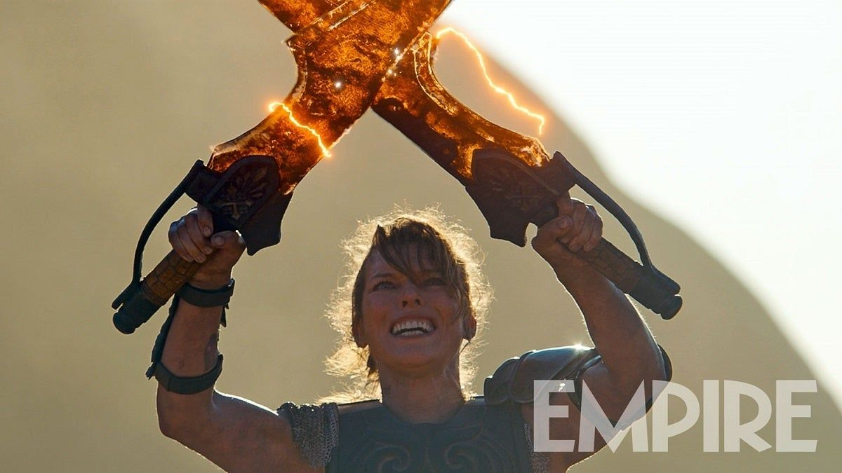 Mila Jovovich vymenila zombíkov za príšery. V akčnom Monster Hunter bude loviť gigantické monštrá