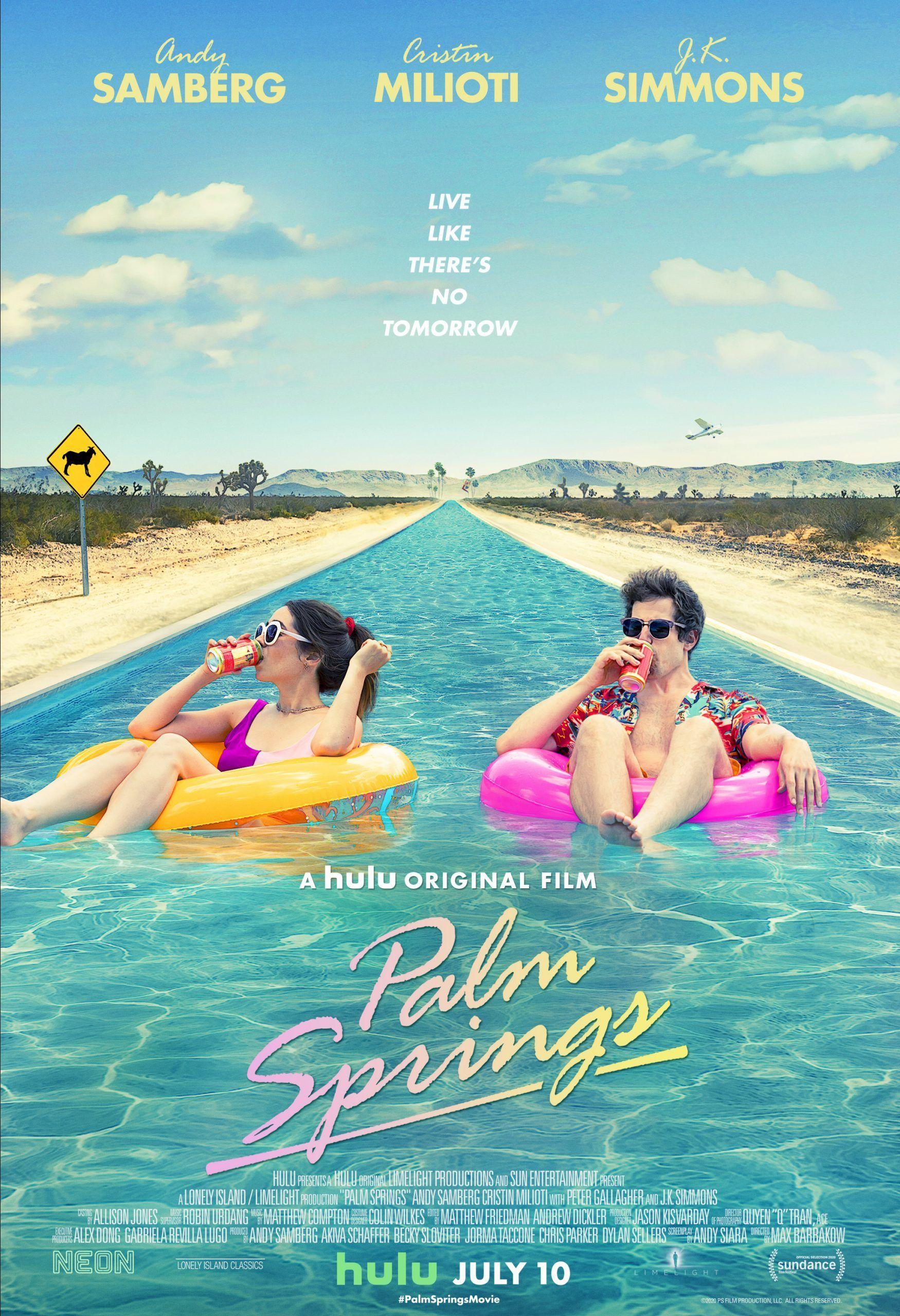 Sleduj bláznivý trailer pre jeden z najchválenejších filmov roka. Komédia Palm Springs ťa kráľovsky pobaví