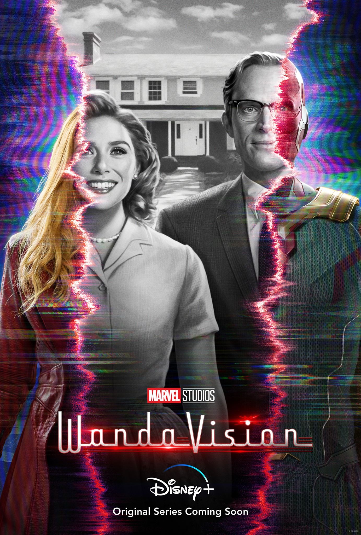 Prvý trailer pre seriál WandaVision spája Scarlet Witch a Visiona v mindfuckovom cestovaní časom a dimenziami