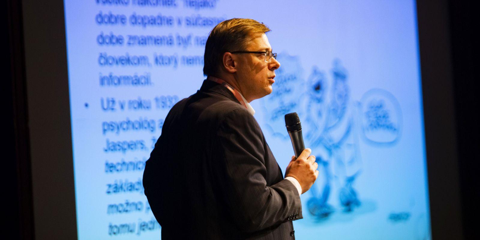 Sociológ Michal Vašečka