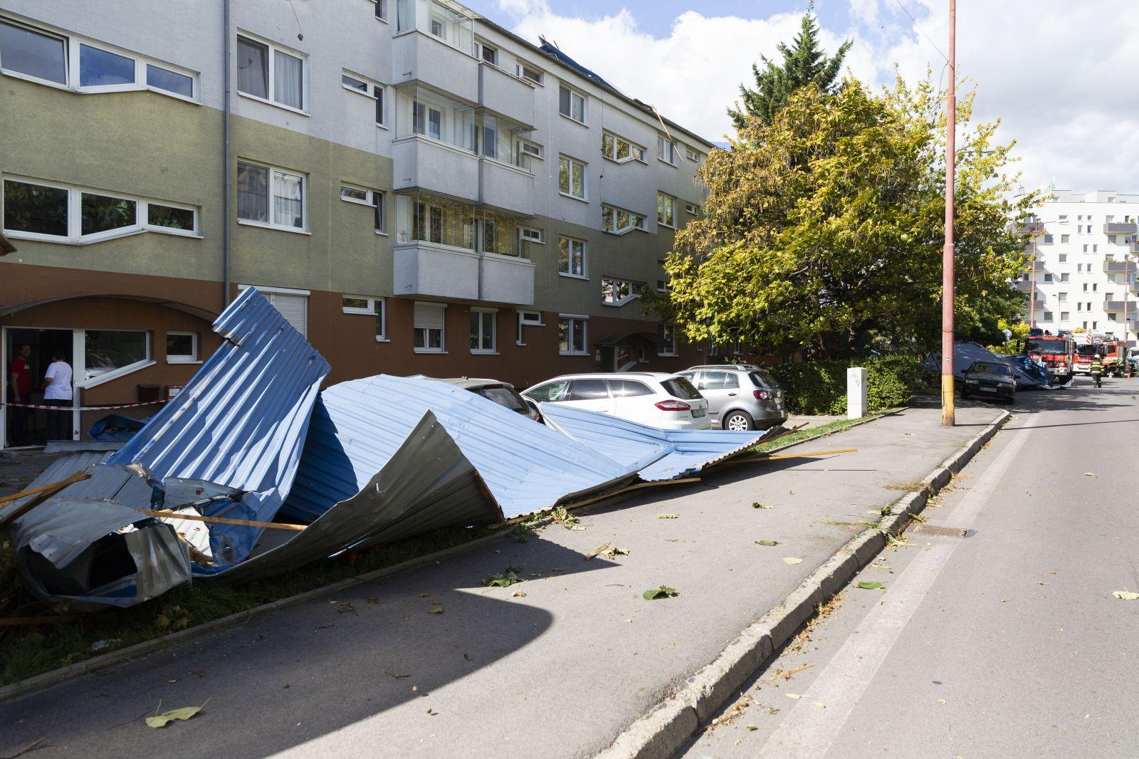 14-ročná Slovenka zomrela po tom, ako na ňu spadol strom. Vietor v Bratislave vytrháva zo zeme stromy