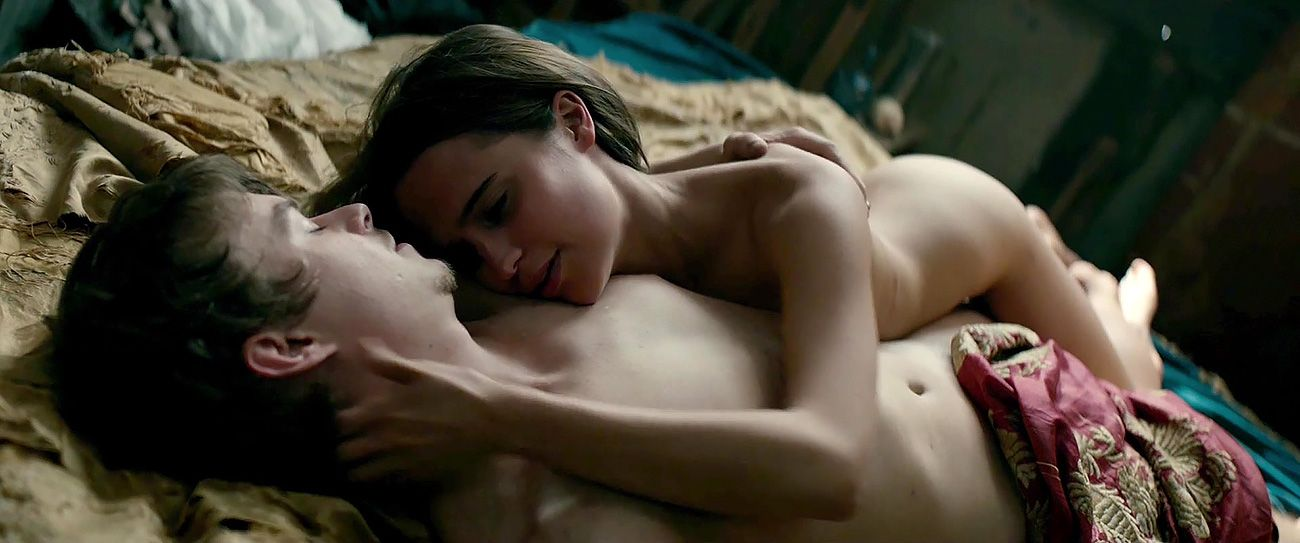 Alicia Vikander vo filme Tulip Fever