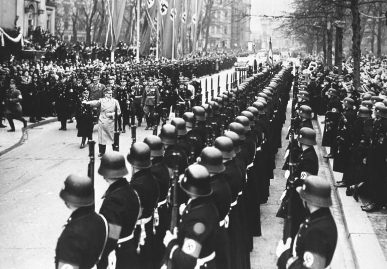 Adolf Hitler v Berlíne