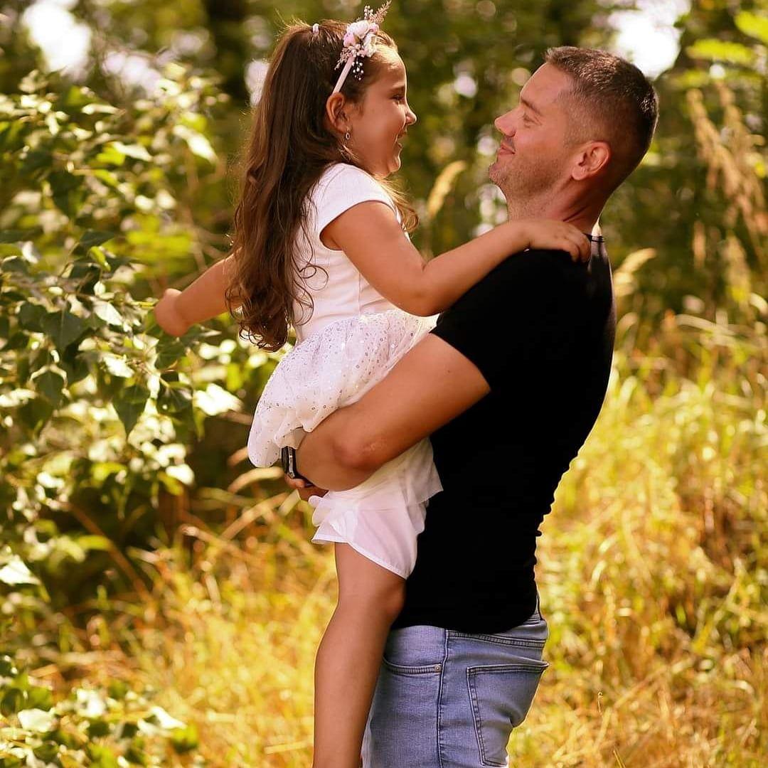 Fotografia s dcérou