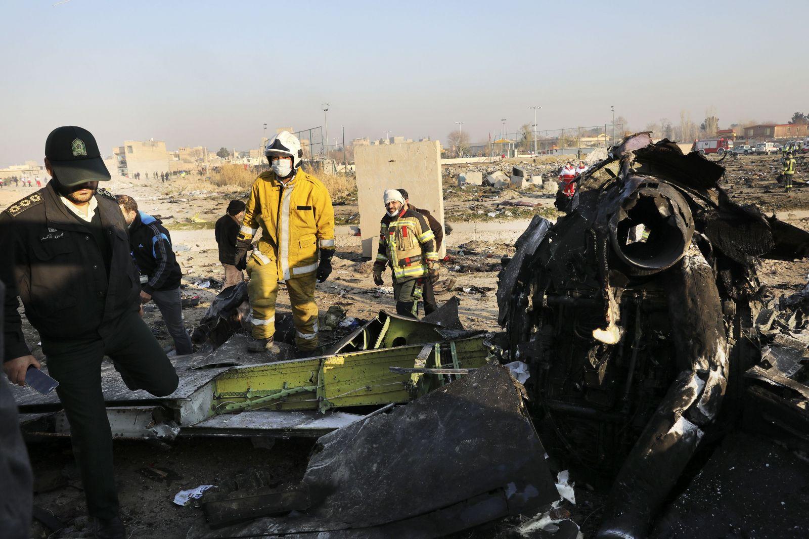 Za zrútením ukrajinského lietadla mohol stáť konflikt medzi USA a Iránom