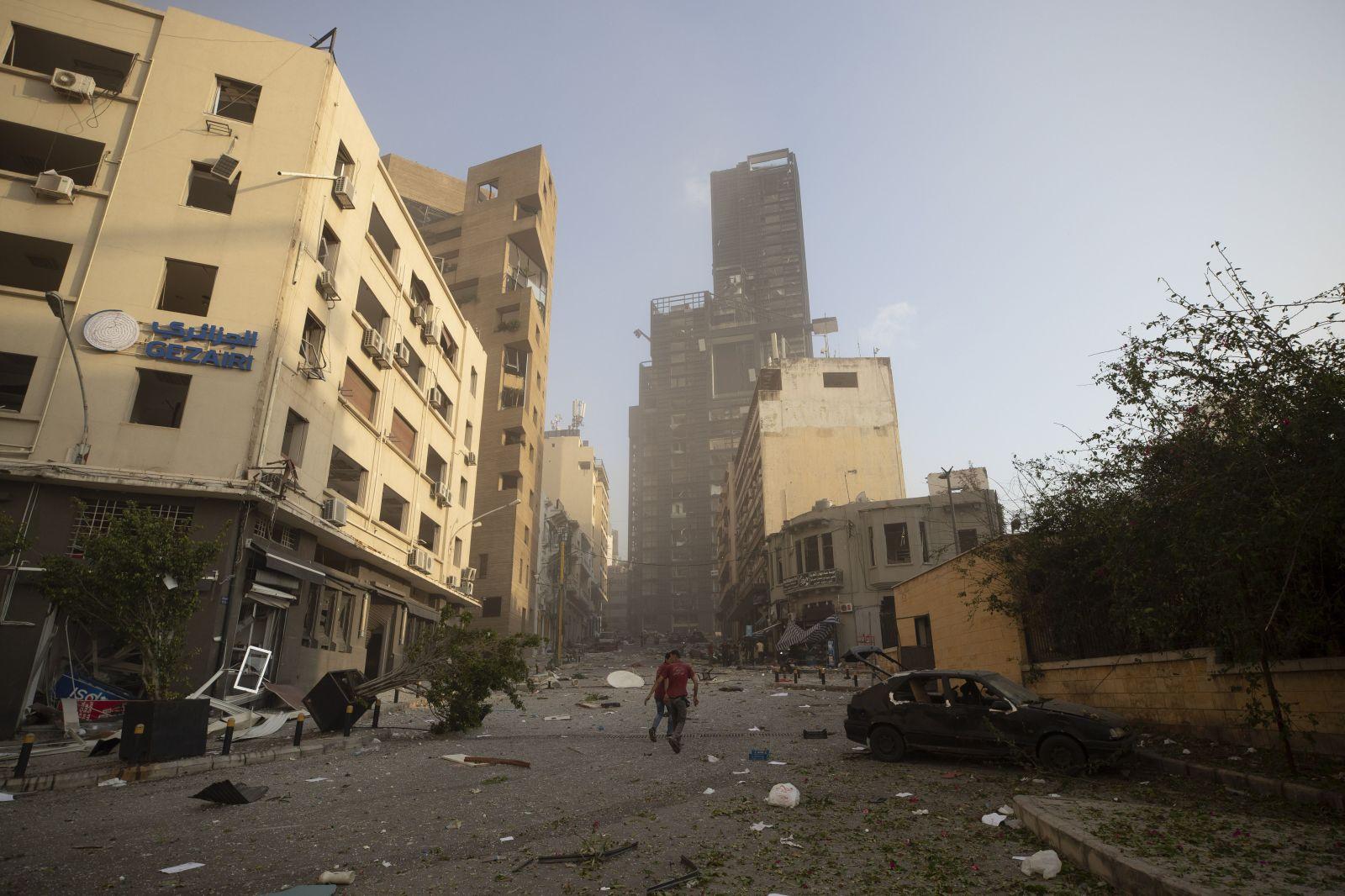 Aktualizované: Mohutná explózia v Bejrúte zabila najmenej 10 ľudí a zranila stovky ďalších