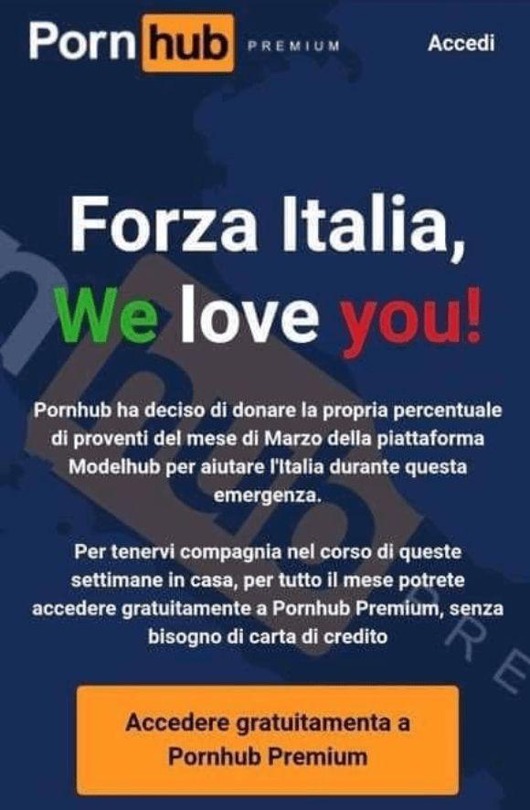 Pornhub ponúka Talianom prémiový obsah zdarma. Chce ich tak udržať v karanténe
