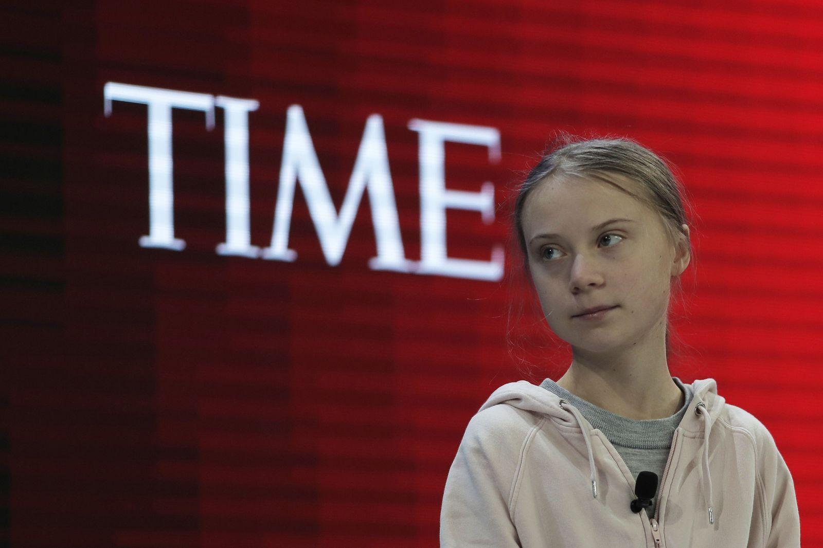 Greta Thunberg na Svetovom ekonomickom fóre v Davose