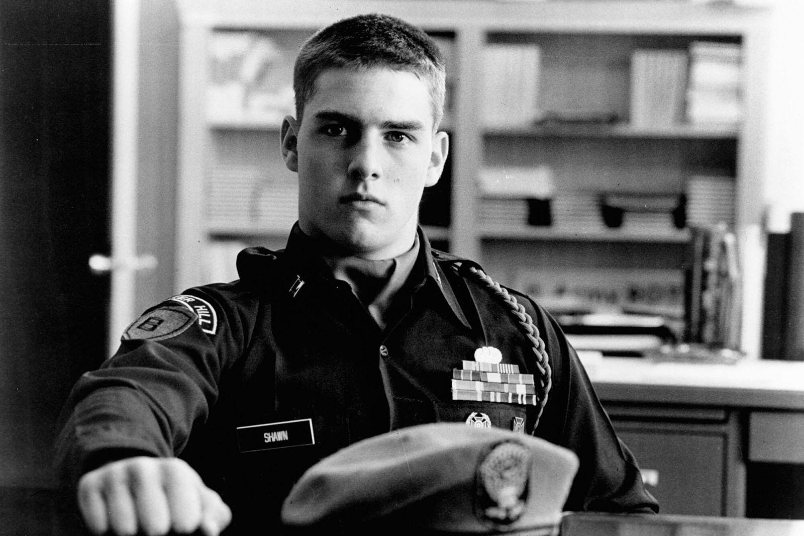 19-ročný Tom Cruise v jeho prvom filme Taps (1981)