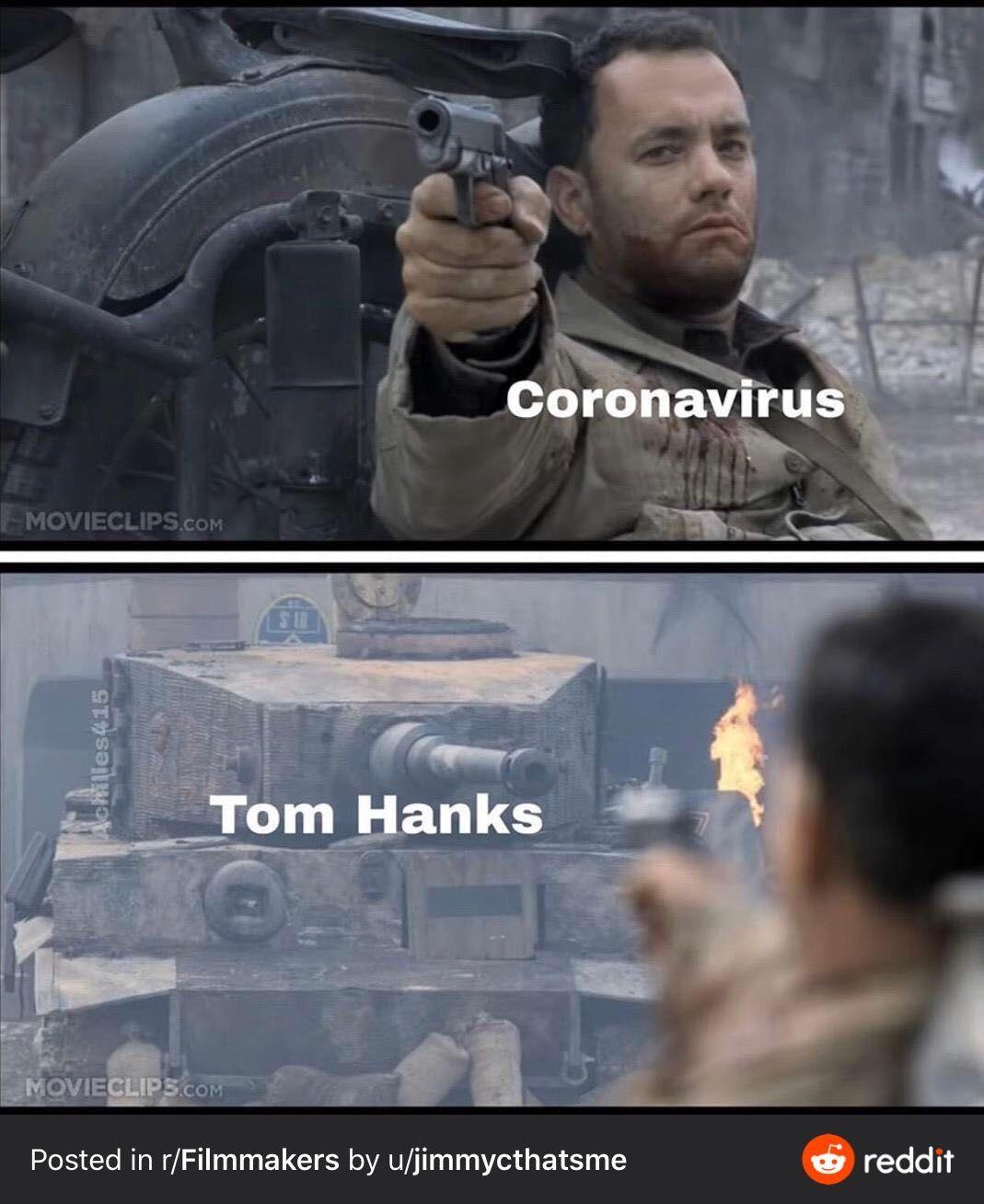 Tom Hanks a jeho boj proti koronavírusu