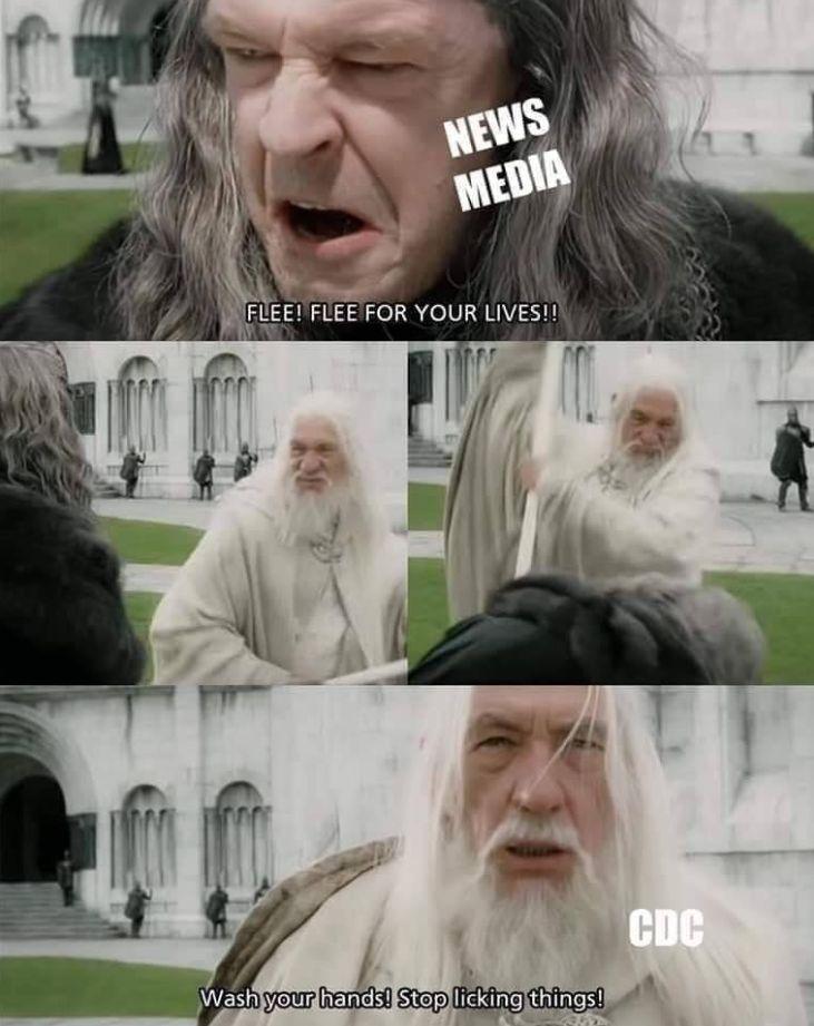 Gandalfov zásah proti koronavírusu
