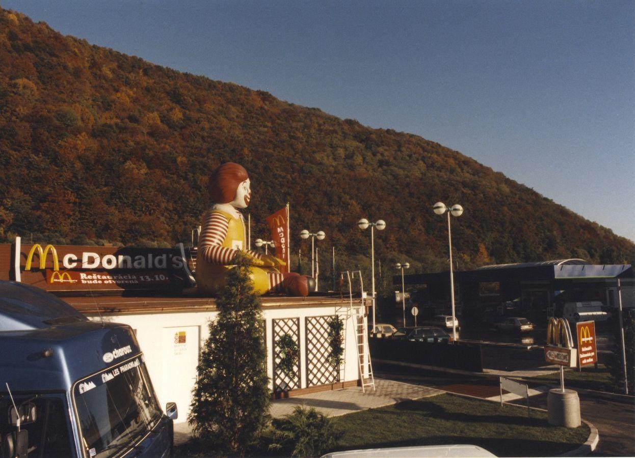 Prvá prevádzka McDonald's v Banskej Bystrici, ktorá funguje dodnes