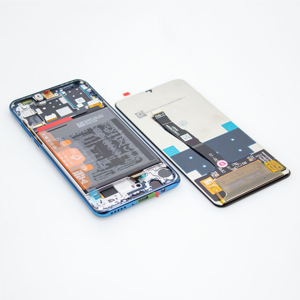 Vlevo originál Huawei LCD, vpravo OEM LCD.