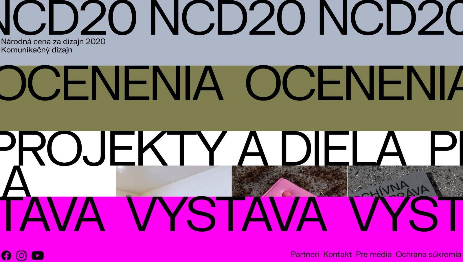 Najlepší slovenský komunikačný dizajn: Národná cena za dizajn predstavuje nominácie a vybrané projekty
