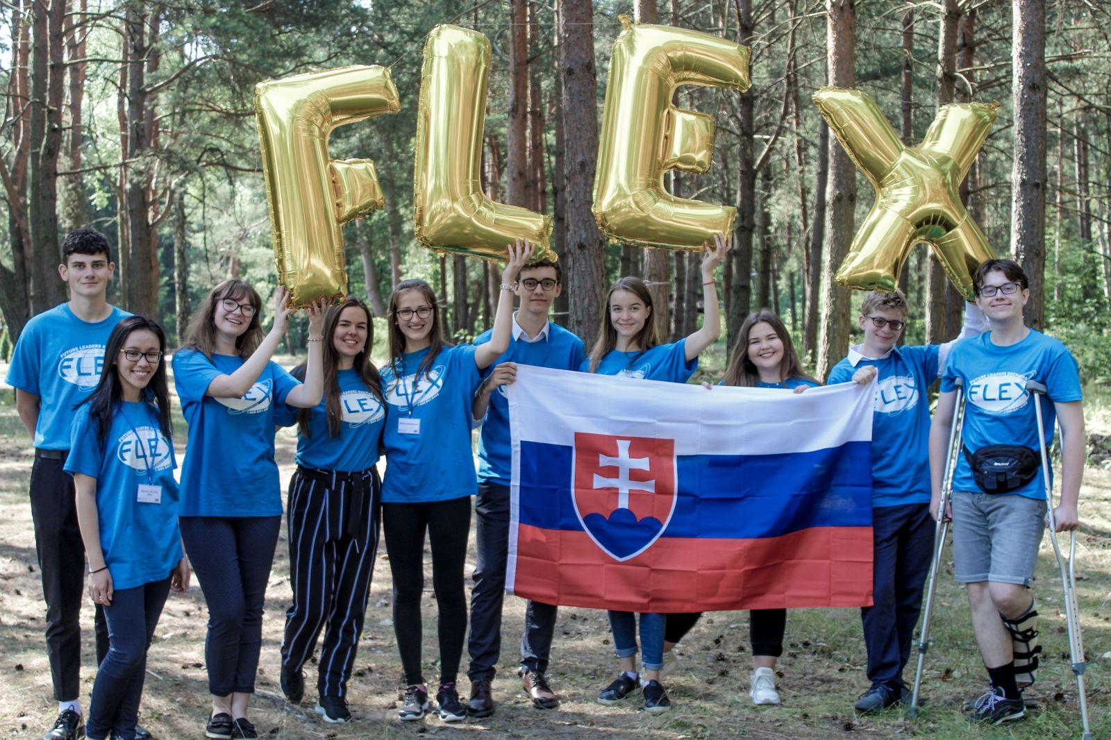 Prví absolventi programu FLEX zo Slovenska