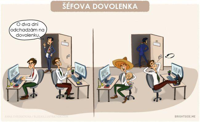 8 vtipných ilustrácií pre (takmer) každého pracujúceho človeka. Čo vtedy, keď je výplata fuč po troch dňoch?