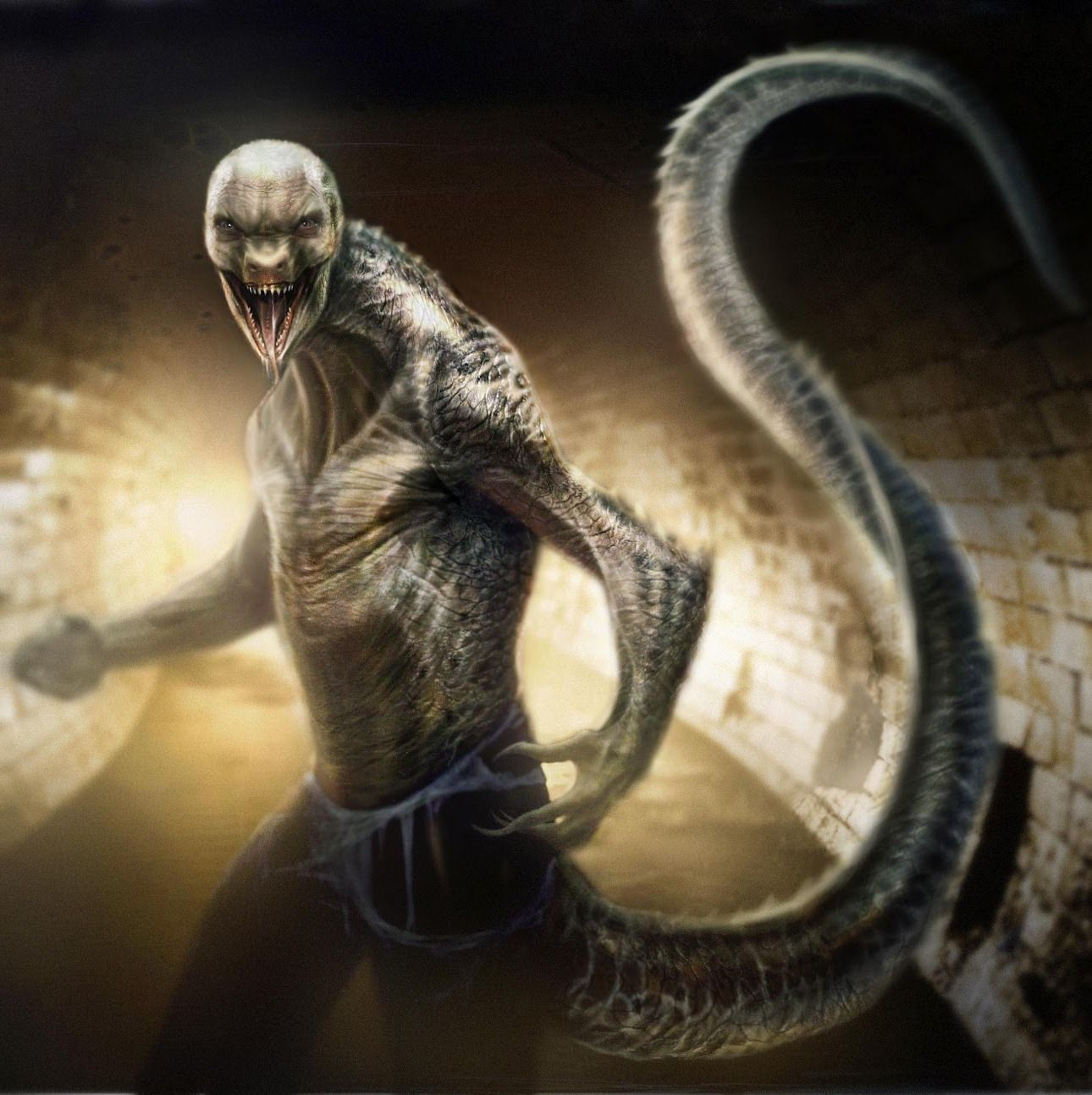 Lizard concept art k Spider-Man 2