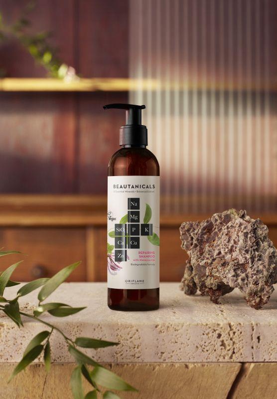Obnovujúci šampón Beautanicals, 250 ml, 10,90 eur.
