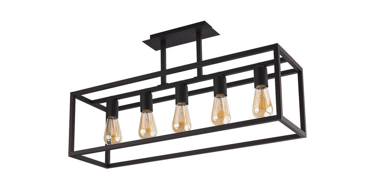 Závesná lampa Crate Black