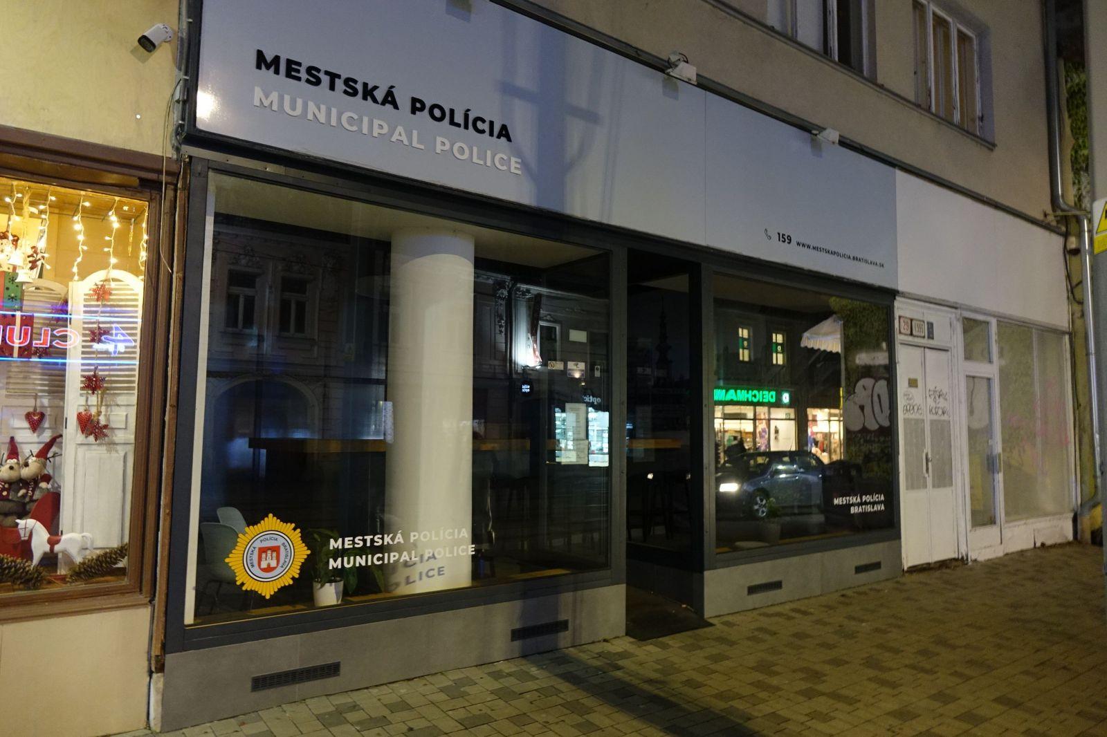 Stanica mestskej polície