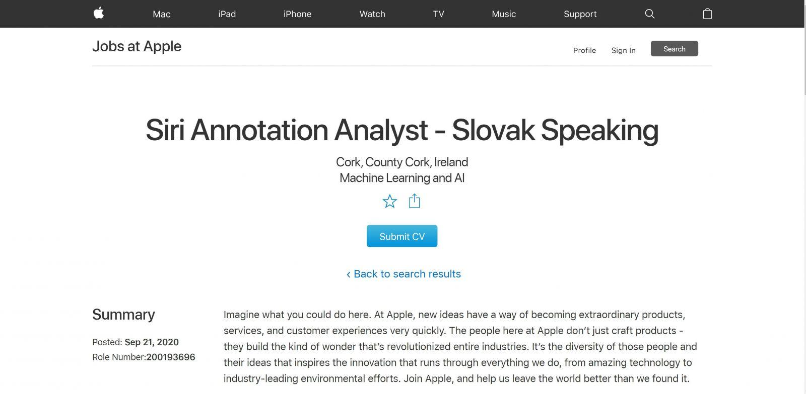 Siri hovoriaca po slovensky? Vyzerá to tak