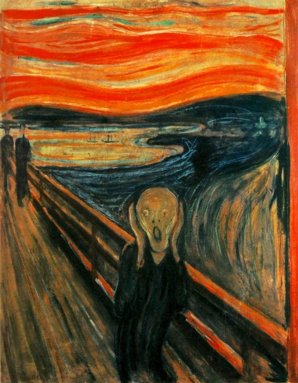 Edward Munch - Výkrik