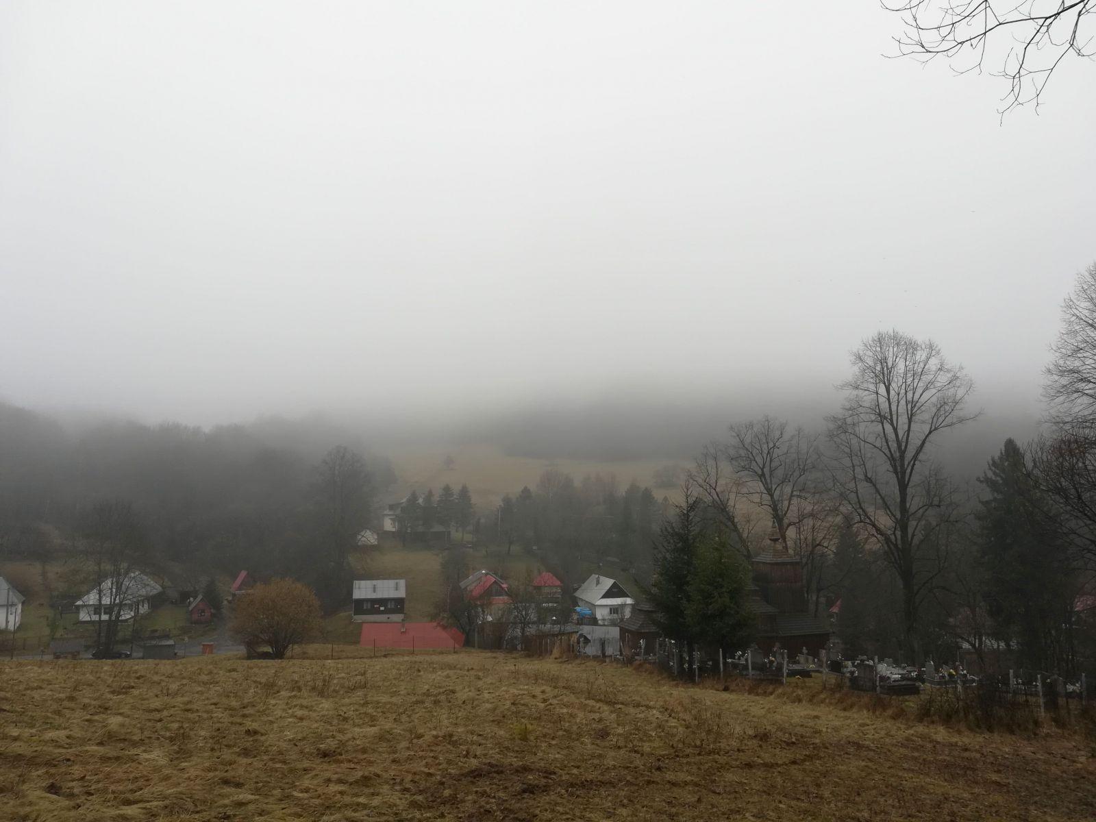 Najmenšia obec na Slovensku - Príkra.