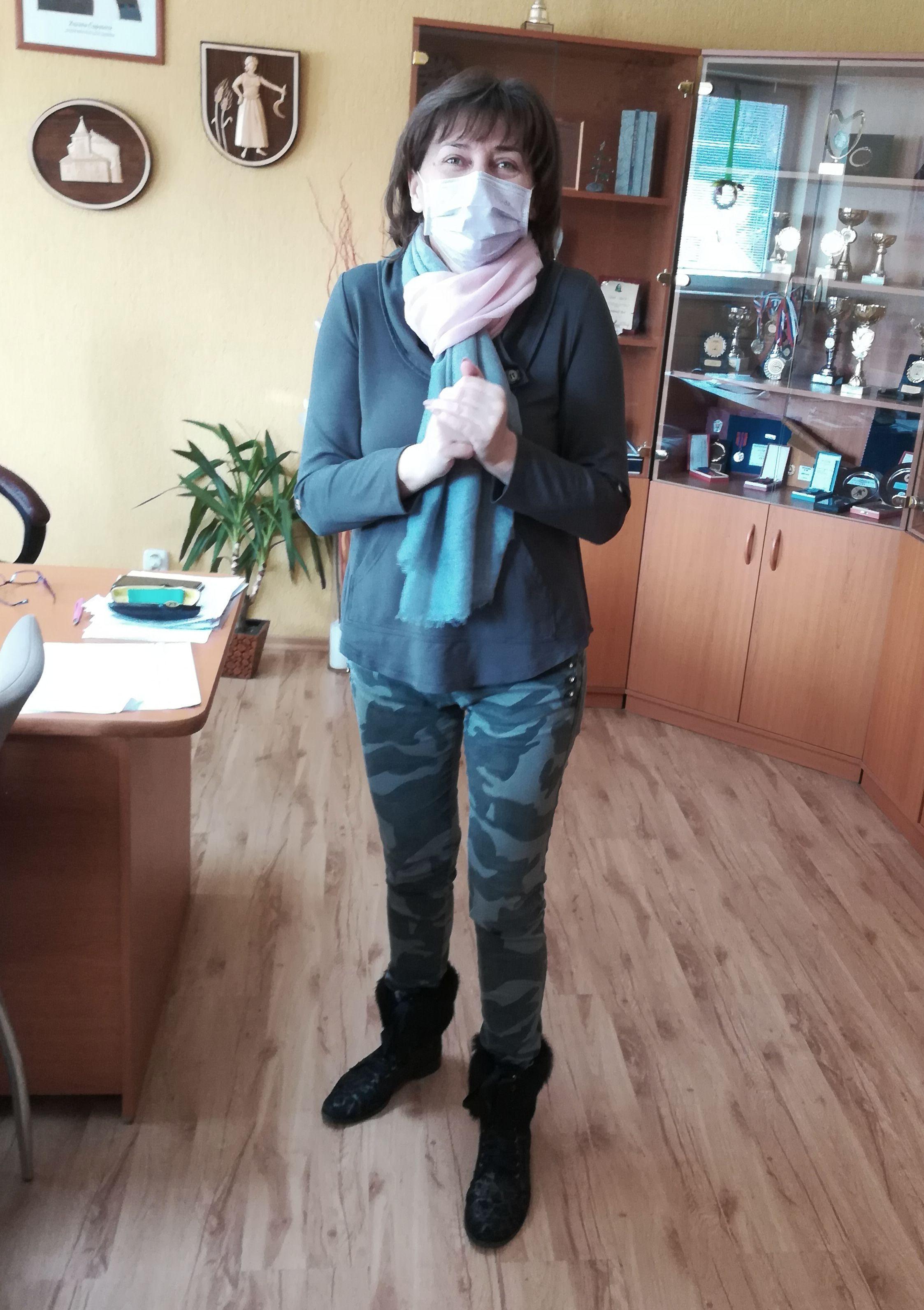 Starostka Lenartova Jana Bľandová