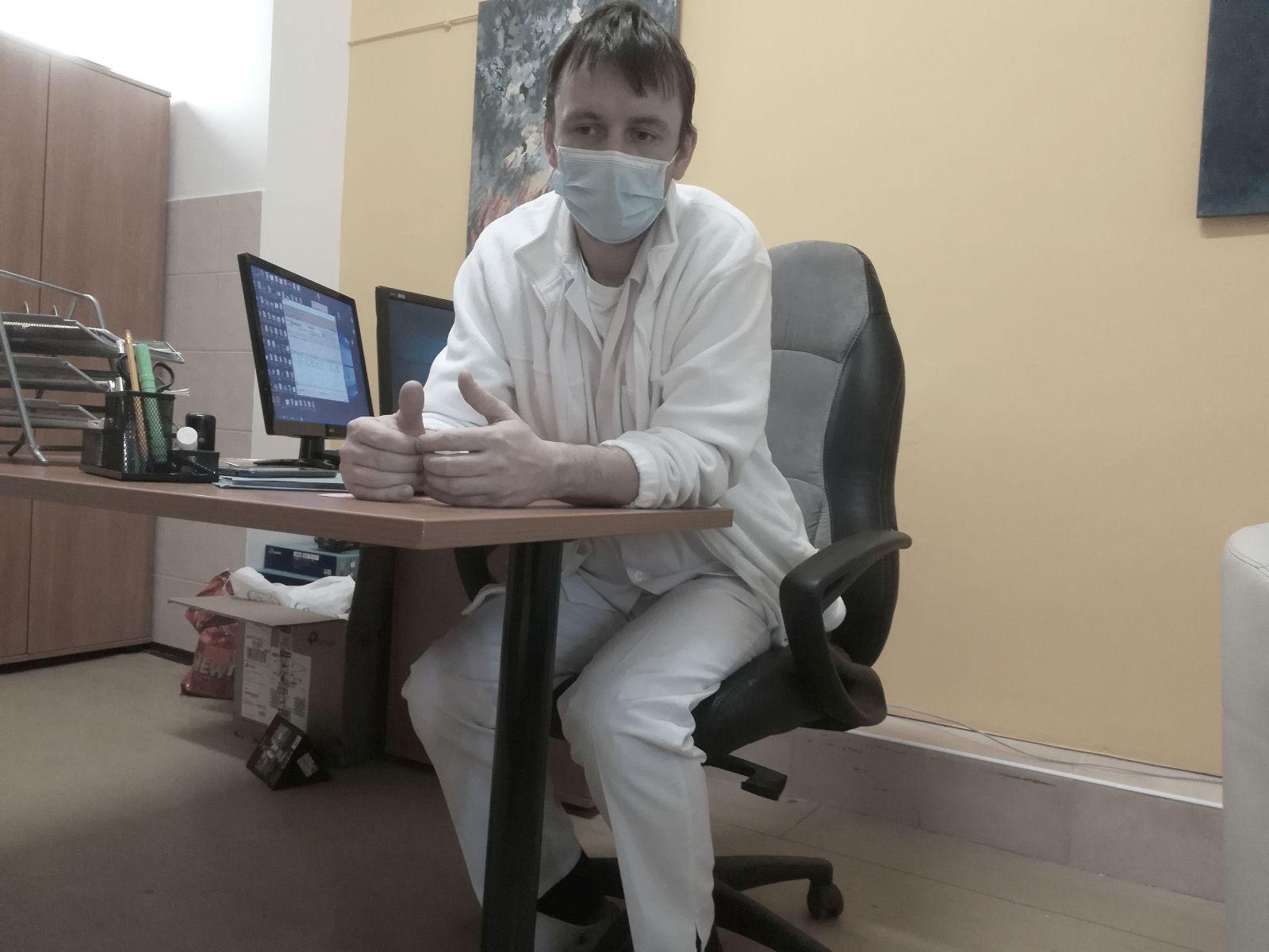 Martin Novotný je primárom na klinike od septembra 2019.